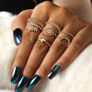Jewelry - Bohemian Rings Set